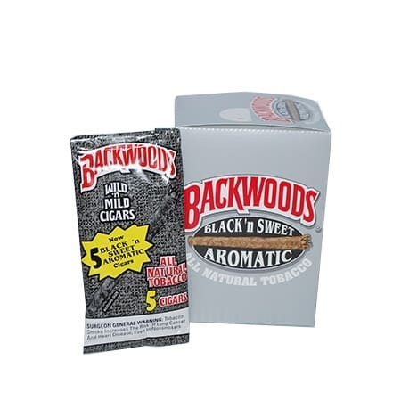 "Backwoods Black & Sweet- Pouch/5 (4.5""x27)"