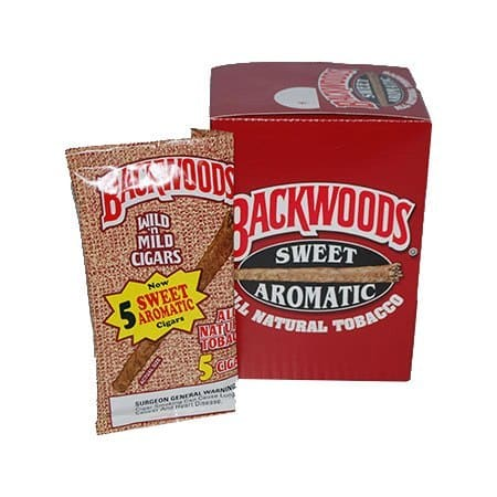 "Backwoods Sweet Aromatic - Pouch/5 (4.5""x27)"