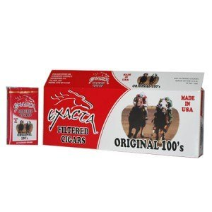 Exacta Filtered Cigar Original 100 Soft Pack