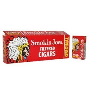 Smokin Joes Filtered Cigar Original 100 Soft Pack