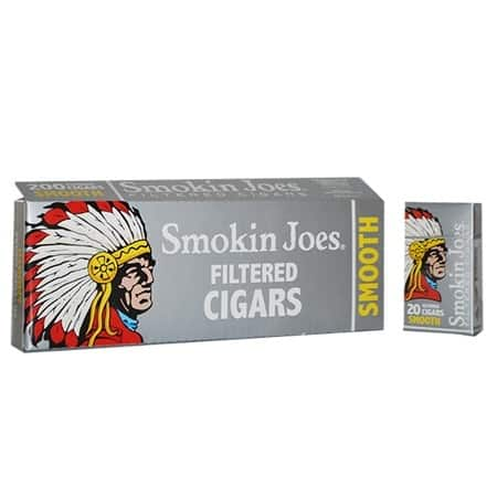 Smokin Joes Filtered Cigar Smooth 100 Box