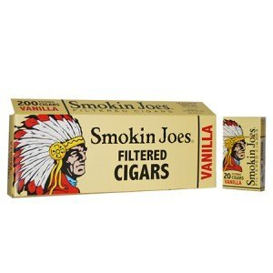 Smokin Joes Filtered Cigar Vanilla 100 Soft Pack