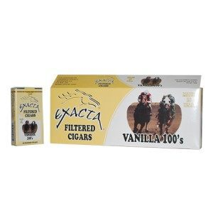 Exacta Filtered Cigar Vanilla 100 Soft Pack