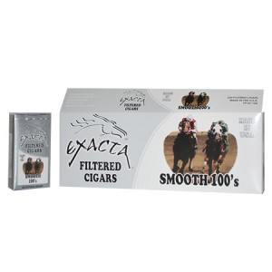 Exacta Filtered Cigar Smooth 100 Soft Pack
