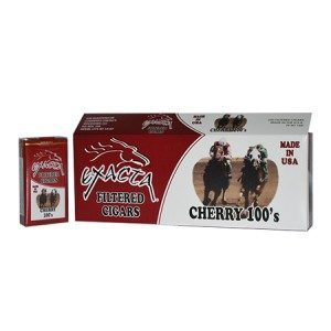 Exacta Filtered Cigar Cherry 100 Soft Pack