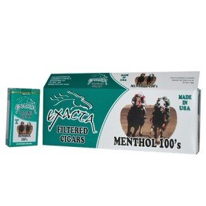 Exacta Filtered Cigar Menthol 100 Soft Pack