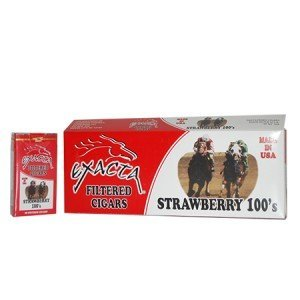 Exacta Filtered Cigar Strawberry 100 Soft Pack