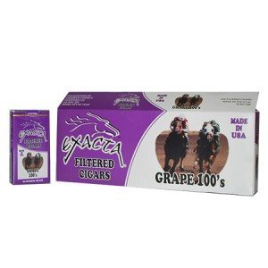 Exacta Filtered Cigar Grape 100 Soft Pack