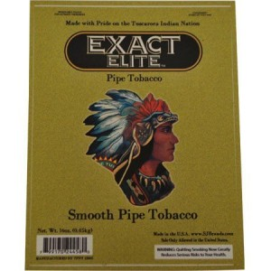 EXACT ELITE SMOOTH PIPE TOBACCO 5LB