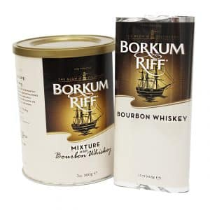 Bourkum Riff Bourbon Whiskey Pipe Tobacco