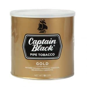 Captain Black Gold Tin Pipe Tobacco