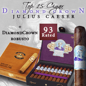 Diamond Crown Julius Caesar & Diamond Crown Robusto