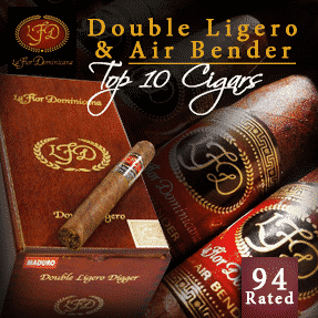 La Flor Dominicana Double Ligero & LFD Air Bender Cigars