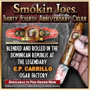 Smokin Joes 34th Ann. Cigars