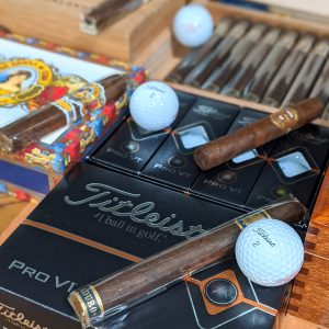 Free PROV1 Golf Ball with Cigar Sale